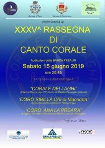 XXXV° Rassegna di canto corale